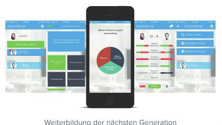 Quizchallenge App für die Ausbildung, Training und Weiterbildung