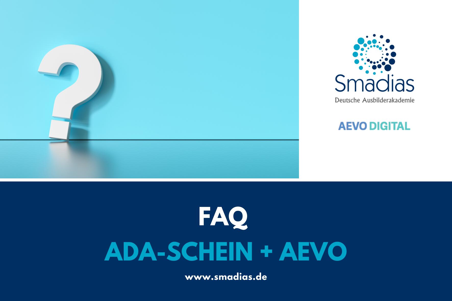FAQ - AdA-Schein/AEVO