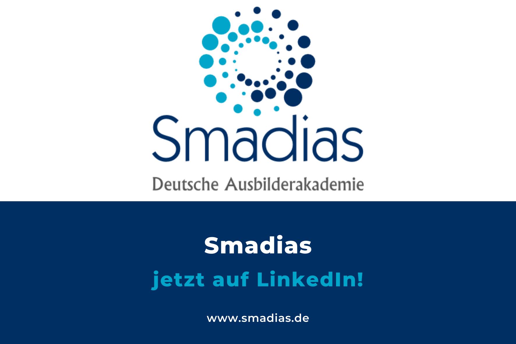 Smadias jetzt auch auf LinkedIn!